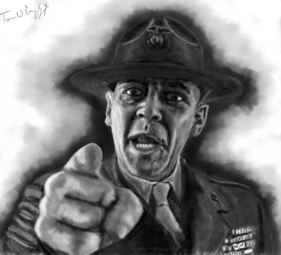 Sergent Hartman Full Metal Jacket