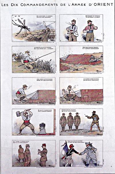 les 10 commandements de l'armée d'Orient