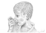 asthme enfant crise ventoline