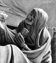 Mort allegorie mausolee marechal Saxe